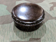 WWII German Deep Bakelite Dark Brown Butter Dish