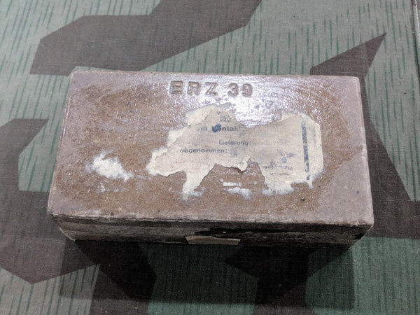 WWII German ERZ 39 Cardboard Rocket Igniter Box