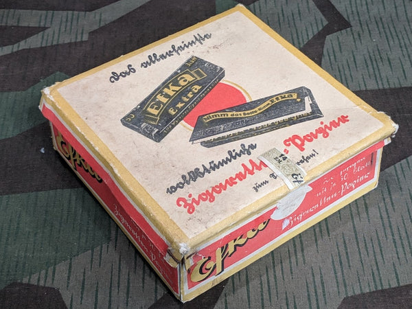WWII German Efka Cigarette Rolling Paper Box Empty