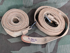 WWII German FJ Luftwaffe Drop Canister Straps AS-IS