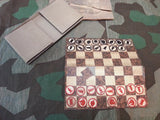 WWII German Feldpost Chess Board Game Set As-is
