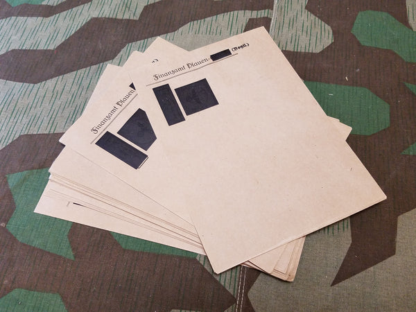 WWII German Finanzamt Plauen Envelopes (Set of 3)