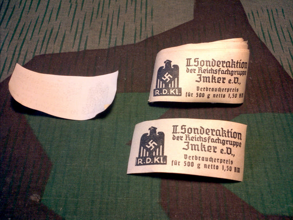 WWII German Food Stuffs Label - Rations