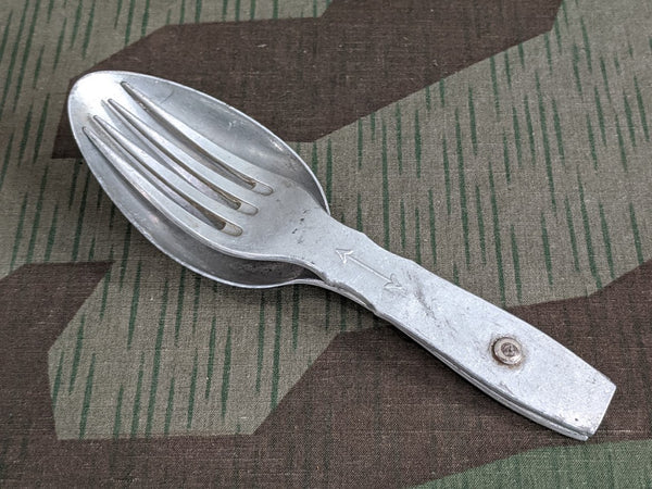 WWII German Fork Spoon WSuCL