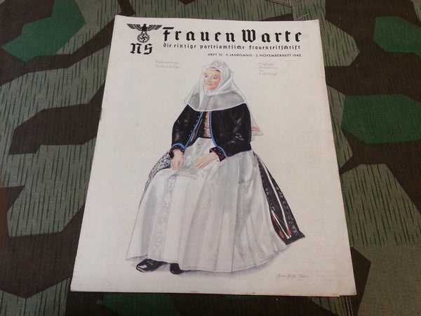 WWII German Frauen Warte Magazine November 1940