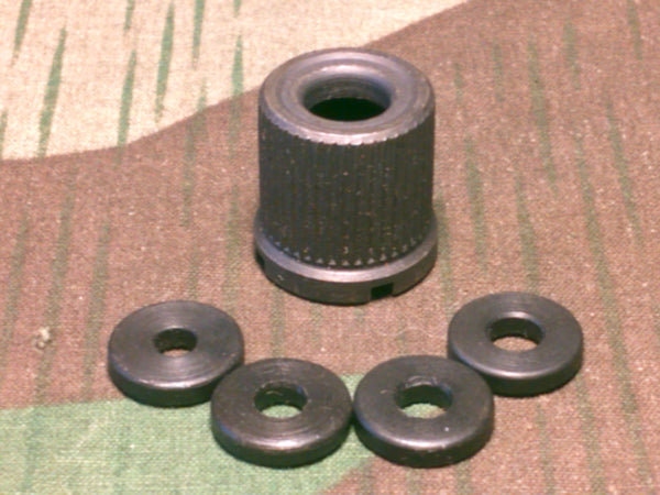 WWII German G43 K43 Rifle Blank Fire Muzzle Nut Set