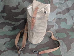 WWII German Canvas Bag for Gas Mask Can or Rope?