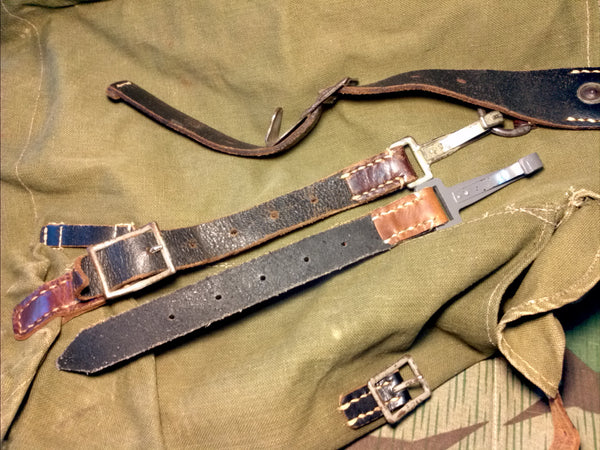 WWII German Gebirgsjäger Rucksack Replacement Straps