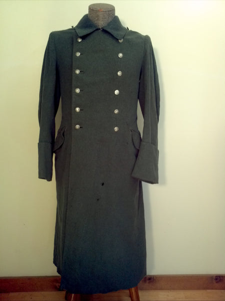 WWII German Gebirgsjäger Unit Marked M40 Great Coat Uniform