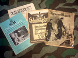 WWII German Grouping of 5 Various Magazines