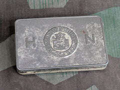 WWII German HN Fugendicht Verpackt Cigarette Tin