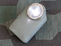 WWII German Hassia Gray Flashlight