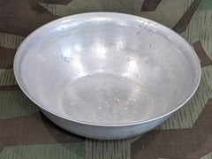 WWII German Heer Aluminum Bowl