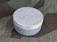 WWII German Heer Marked Small Aluminum Container