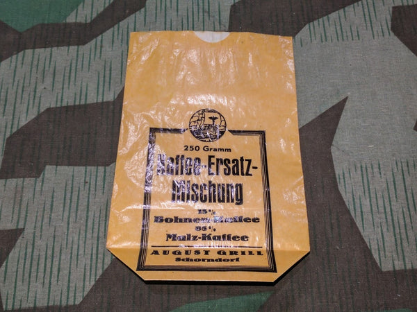 WWII German Kaffee-Ersatz Coffee Substitute Bag
