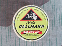 WWII German Kola Dallmann Dallkolat Energy Drops Tin