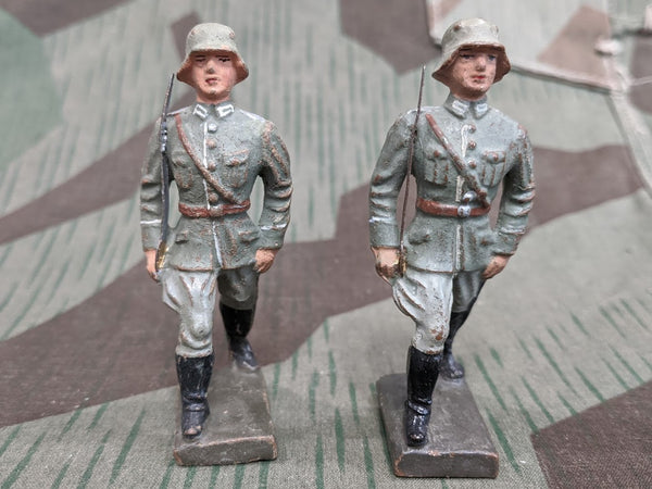 WWII German Lineol Elastolin Composition Toy Soldier Figure