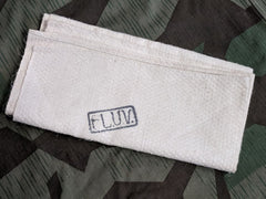 WWII German Luftwaffe Hand Towel Marked