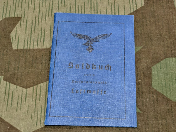 Luftwaffe Soldbuch Reproduction