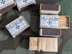 WWII German Match Box with Matches