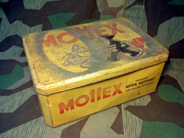 WWII German Mottex Moth Protectant Bulk Container