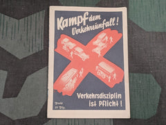 "WWII German NSDAP Traffic Manual ""Traffic Discipline is Your Duty!"" Book"