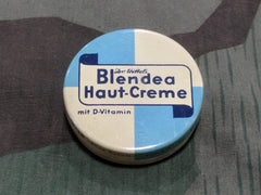 WWII German Original Blendea Haut-Creme Skin Cream Tin