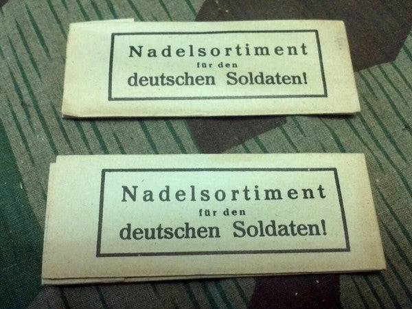 WWII German Pack of Sewing Needles for Soldiers