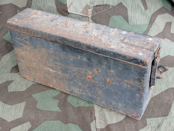 WWII German Heavy Vehicle or Trailer Parts Box