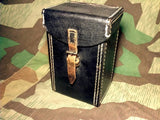 WWII German Preßstoff Headset Pouch Communications