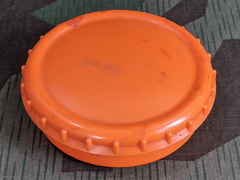 WWII German 1/4 Turn Orange Butter Dish