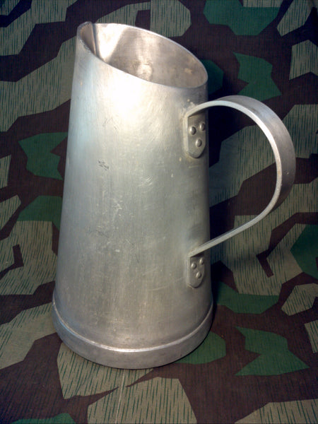 WWII German RFI 36 Aluminum Barracks Water Jug