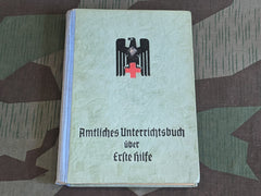 WWII German Red Cross DRK Erste Hilfe First Aid Book 1940