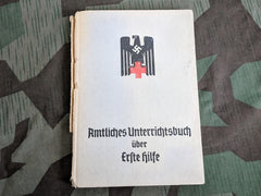 WWII German Red Cross DRK Erste Hilfe First Aid Book 1944
