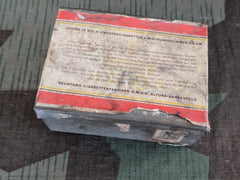 WWII German Reemtsma R6 o/m Cigarette Tin