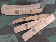 WWII German Reichsnährstand Plum Paper Band (Set of 2)