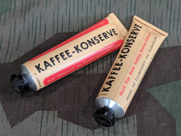 WWII German Reproduction Kaffee Konserve FULL Tube