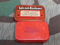 WWII German Salconi Bonbons Tins N.S. Frauenschaft 1939
