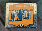 WWII German Senoussi Thin Cigarette Tins