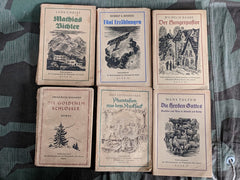 WWII German Set of 6 Soldatenbücherei Books AS-IS