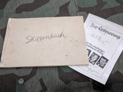 WWII German Skizzenbüch Military Sketch Book