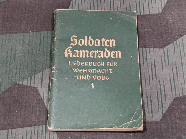 WWII German Soldaten Kameraden Wehrmacht Song Book
