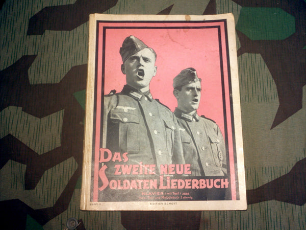 WWII German Soldier's Songbook For Piano (Band II)