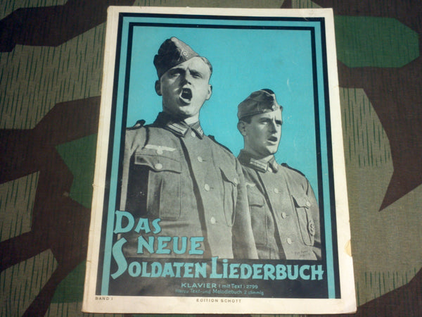 WWII German Soldier's Songbook For Piano (Band I)
