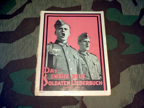 WWII German Soldier's Songbook For Piano