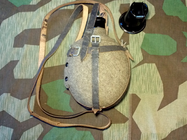 WWII German Unissued Original WAL43 Medic Canteen
