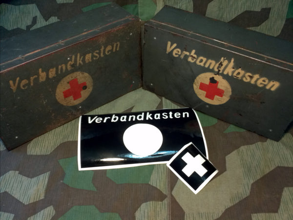 WWII German Verbandkasten Stencil Set