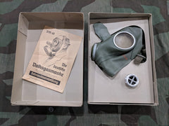 WWII German Volksgasmaske Gas Mask in Box