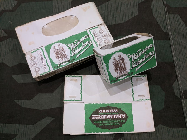 Pre- WWII German Weimerer Lebkuchen Cookie Paper Box