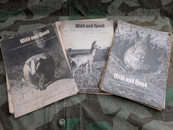 WWII German Wild und Hund Hunting and Outdoor Magazines
